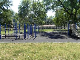A playground at Long's Park