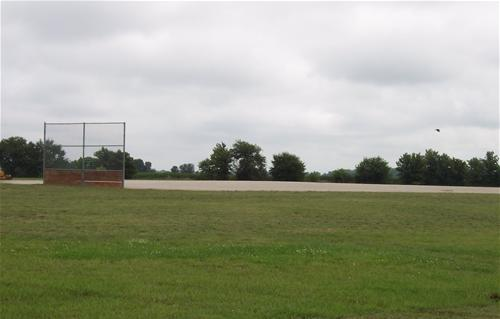A baseball field at Northeast Community Park