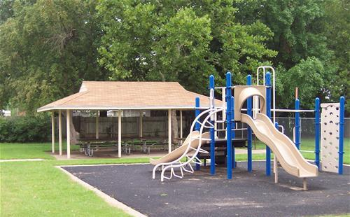 A playground in Northview Park