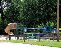 A playground in Stagg Hill Park
